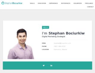 stephanbociurkiw.com screenshot