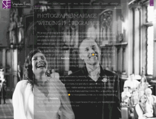 stephaneevras.com screenshot