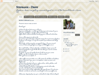 stephanieanddrew.blogspot.com screenshot
