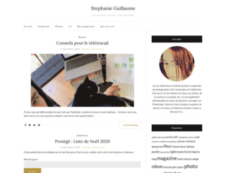 stephanieguillaume.fr screenshot