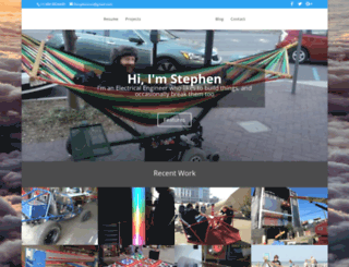stephen.engineer screenshot