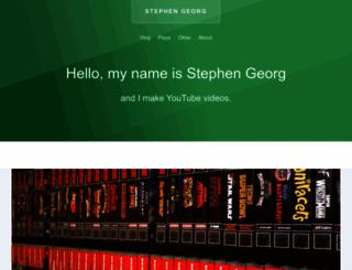 stephenge.org screenshot