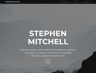 stephenmitchell.me.uk screenshot