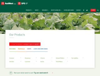 stephenpastureseeds.com.au screenshot