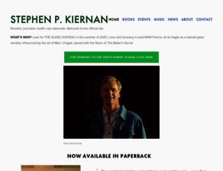stephenpkiernan.com screenshot