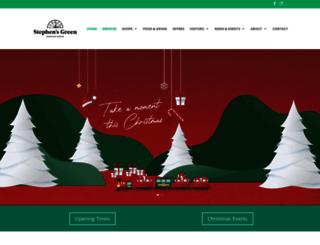 stephensgreen.com screenshot