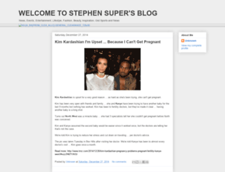 stephensuper.blogspot.com screenshot
