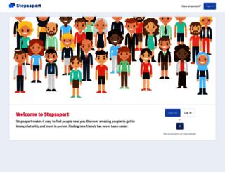 stepsapart.com screenshot