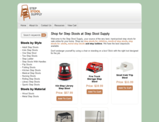 stepstoolsupply.com screenshot