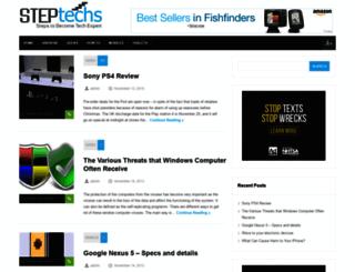steptechs.com screenshot