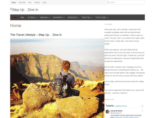 stepupdivein.com screenshot