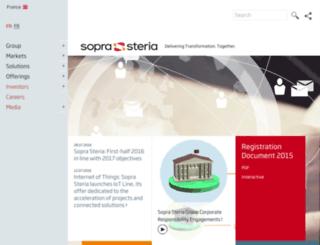 steria.com screenshot