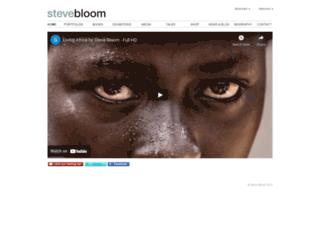 stevebloomphoto.com screenshot