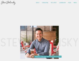stevedolinsky.com screenshot