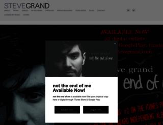 stevegrand.com screenshot
