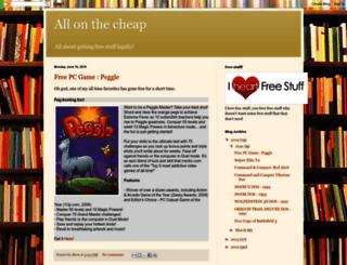 stevekaun.blogspot.com screenshot