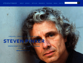 stevenpinker.com screenshot