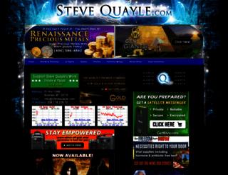 stevequayle.com screenshot