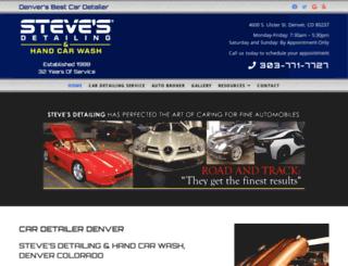 stevesdetailing.net screenshot