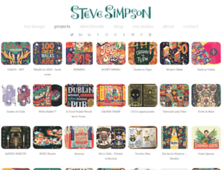 stevesimpson.com screenshot
