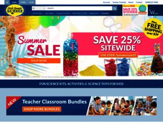 stevespanglerscience.com screenshot