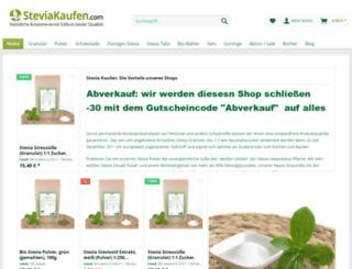 steviakaufen.com screenshot