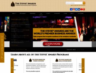 stevieawards.com screenshot