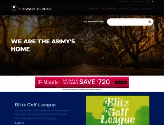 stewart.armymwr.com screenshot