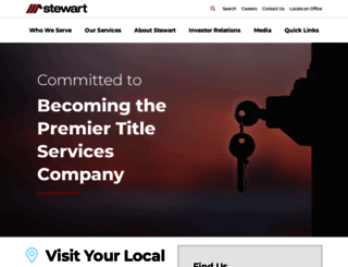 stewart.com screenshot