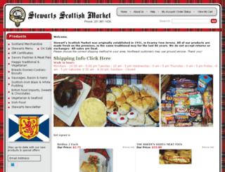 stewartsscottishmarket.com screenshot