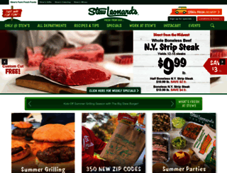 stewleonards.com screenshot