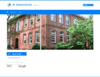 stgabrielschool.eduk12.net screenshot