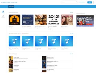 sthelens.freegalmusic.com screenshot