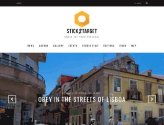 stick2target.com screenshot