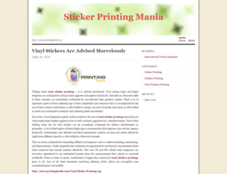 stickerprintingmania.wordpress.com screenshot