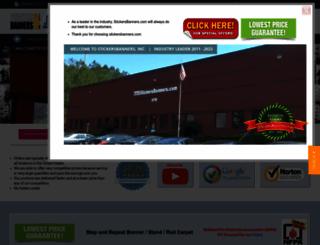 stickersbanners.com screenshot