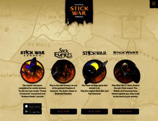 stickwar.com screenshot