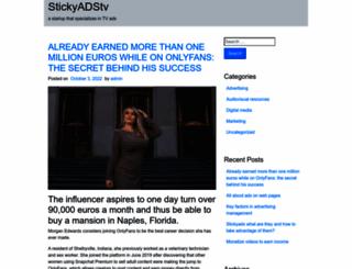 stickyads.tv screenshot