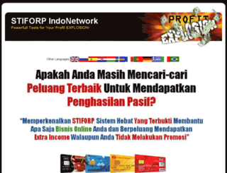 stiforpindonesia.com screenshot