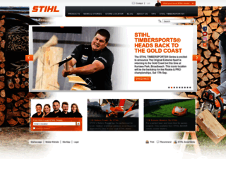 stihl.com.au screenshot