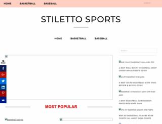 stilettosetsports.com screenshot