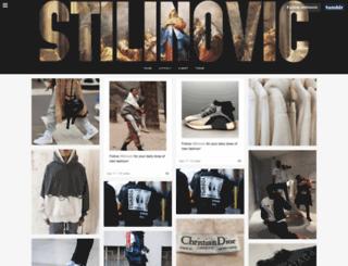 stilinovic.tumblr.com screenshot