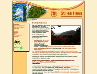 stilles-haus.de screenshot