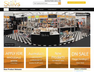 stilus.com.au screenshot