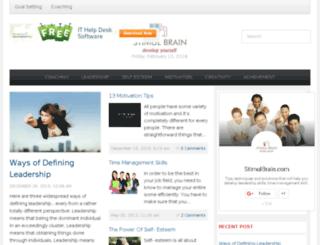 stimulbrain.com screenshot