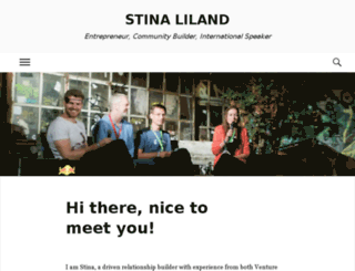 stinaliland.com screenshot