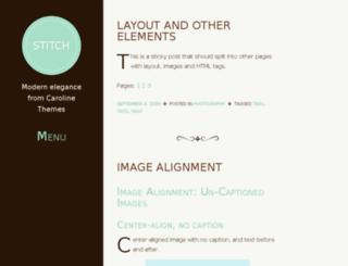 stitch-demo.calobeedoodles.com screenshot