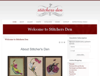 stitchersden.co.za screenshot