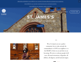 stjames-cambridge.org screenshot