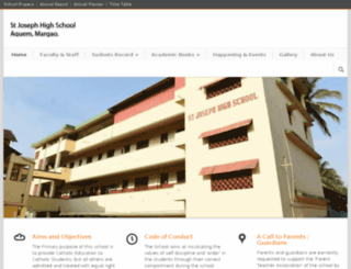 stjosephschoolaquem.net screenshot